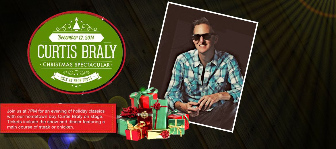 Curtis Braly Christmas Spectacular