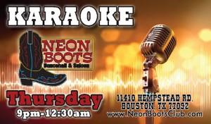 Karaoke Thursdays @ Houston | Texas | United States