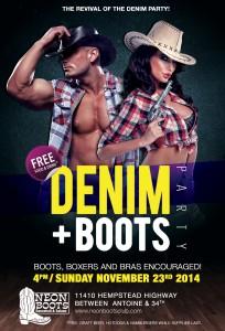 Denim & Boots Party @ Houston | Texas | United States