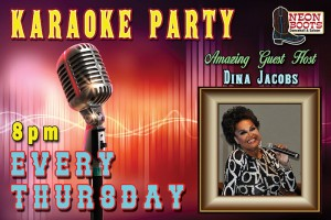 KARAOKE Thursday with Host Dina Jacobs @ Houston | Texas | United States
