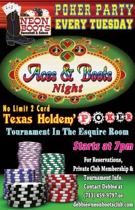 Aces and Boots Poker Party