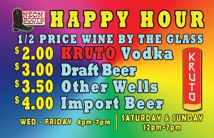 Thursday Happy Hour Drink Specials