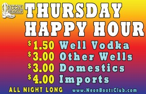 Thursday Happy Hour