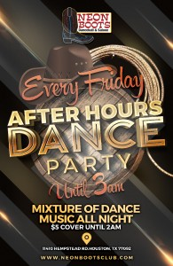 Open Friday, June 19th for our LATIN NIGHT After Hours Dance Party Every Friday