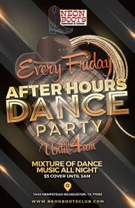 After Hours Dance Party Every Friday