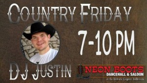 Dance To Country & Western Music With DJ Justin