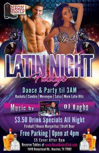 POSTPOSED UNTIL APRIL 3RD - LATIN NIGHT DANCE PARTY TIL 3AM!!!