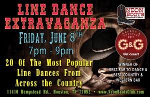 LINE DANCE EXTRAVAGANZA!!!
