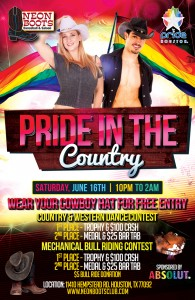 OFFICIAL PRIDE IN THE COUNTRY!!! @ Neon Boots Dancehall and Saloon