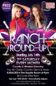 RANCH Round-Up for the Ladies at NEON BOOTS!