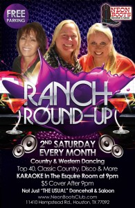 BACK AGAIN - The Ranch Round-Up for the Gals Every 2nd Saturday!
