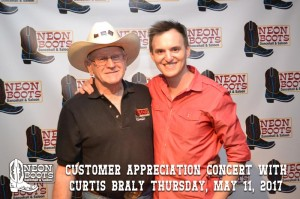 Customer Appreciation Concert with Country Music Artist Curtis Braly (May 11, 2017)