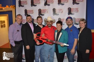 Neon Boots Ribbon Cutting with the Houston LGBT Chamber of Commerce (September 28, 2017)
